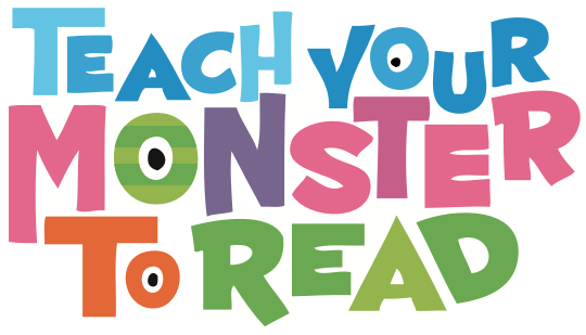 Image result for teach your monster to read logo